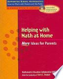 libro Helping With Math At Home