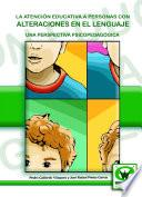 libro La Atención Educativa A Personas Con Alteraciones Del Lenguaje