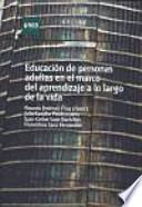 libro La Educación De Personas Adultas En El Marco Del Aprendizaje A Lo Largo De La Vida