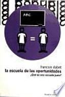 libro La Escuela De Las Oportunidades