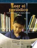 libro Leer El Periódico (reading The Newspaper)