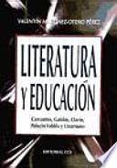 libro Literatura Y Educación