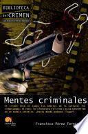 libro Mentes Criminales