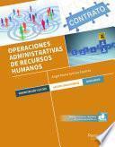 libro Operaciones Administrativas De Recursos Humanos