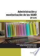 libro Uf1470   Administración Y Monitorización De Los Sgbd