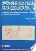 libro Unidades Didácticas Para Secundaria Vi