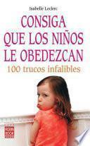 libro Consiga Que Los Niños Le Obedezcan