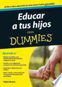 libro Educar A Tus Hijos Para Dummies