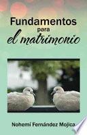 libro Fundamentos Para El Matrimonio