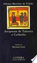 libro Arcipreste De Talavera O Corbacho