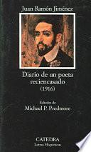 libro Diario De Un Poeta Reciencasado (1916)