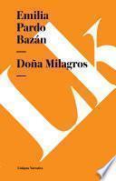 libro Doña Milagros