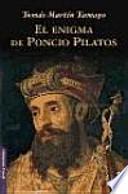 libro El Enigma De Poncio Pilatos