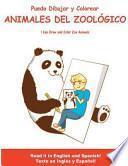 libro Puedo Dibujar Y Colorear Animales Del Zoologico