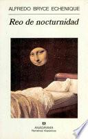 libro Reo De Nocturnidad