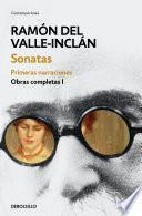 libro Sonatas. Primeras Narraciones