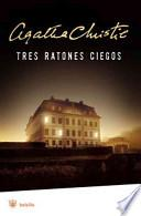 libro Tres Ratones Ciegos (la Ratonera)