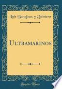 libro Ultramarinos (classic Reprint)