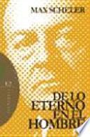 libro De Lo Eterno En El Hombre