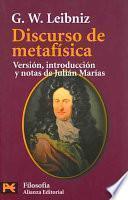 libro Discurso De Metafísica
