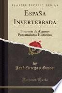 libro Espana Invertebrada