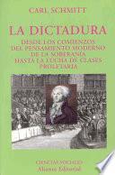 libro La Dictadura