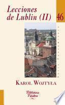 libro Lecciones De Lublin (ii)
