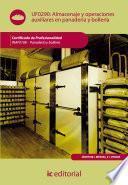 libro Almacenaje Y Operaciones Auxiliares En Panadería Y Bollería. Inaf0108