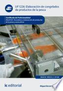 libro Elaboración De Congelados De Productos De La Pesca. Inaj0109