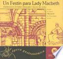libro Un Festín Para Lady Macbeth