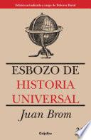 libro Esbozo De Historia Universal