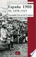 libro España 1900