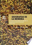 libro Geografías De La Memoria