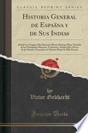 libro Historia General De Espaäna Y De Sus Indias