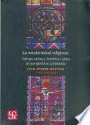 libro La Modernidad Religiosa