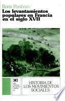 libro Los Levantamientos Populares En Francia En El Siglo Xvii