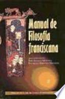 libro Manual De Filosofía Franciscana