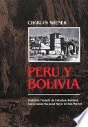 libro Perú Y Bolivia. Relato De Viaje