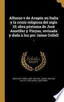 libro Spa Alfonso V De Aragon En Ita