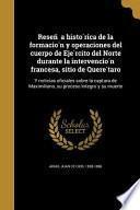 libro Spa Resen A Histo Rica De La F