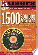 libro 1500 Sonidos Para La Pc: Los Mejores Wavs En 25 Categorias With Cdrom