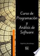 libro Curso De Programación Y Análisis De Software   Tercera Edición