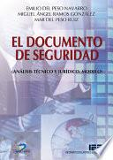 libro El Documento De Seguridad