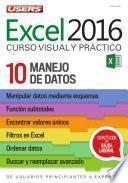 libro Excel 2016 – Manejo De Datos