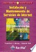 libro Instalación Y Mantenimiento De Servicios De Internet.