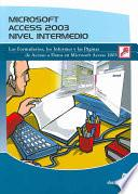 Microsoft Access 2003. Nivel Intermedio