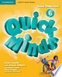 libro Quick Minds Level 6 Guía Didáctica
