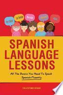 libro Spanish Language Lessons