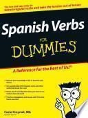 libro Spanish Verbs For Dummies