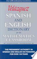 libro Velazquez Spanish And English Dictionary For The Mathematics Classroom
